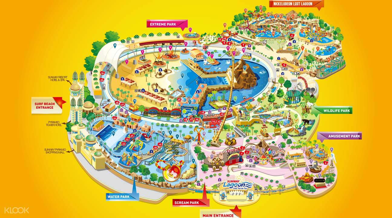 [Klook Exclusive Giveaway] Sunway Lagoon Water Theme Park